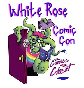 white rose comic con
